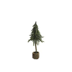 Kerstboom op stam S