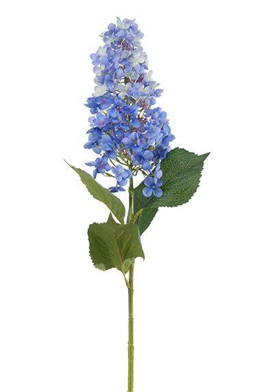 Pluim Hortensia L100cm Blauw