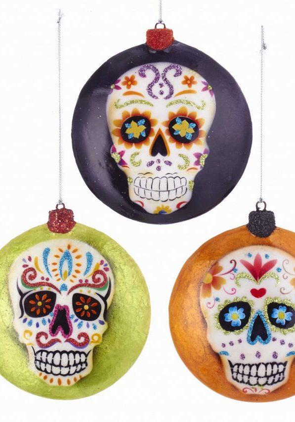 Dead face ornament