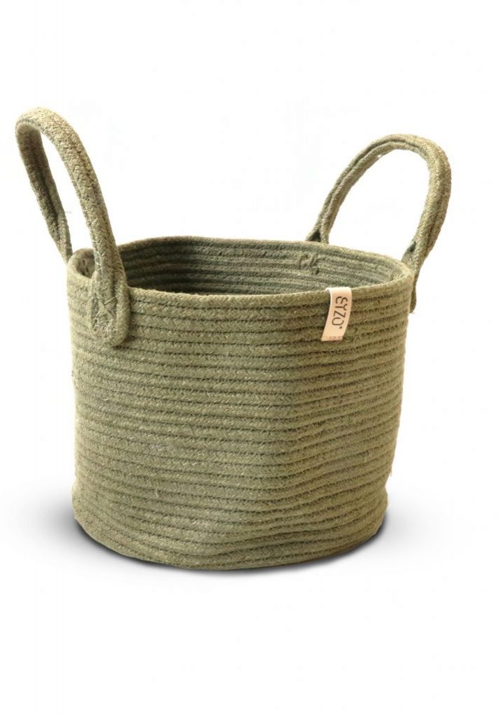 storage basket olive
